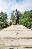 Military Glory Memorial in the town of Mariinsk, Kemerovskaya region, Siberia, Russia — Foto Stock