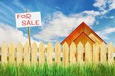 Szybka nieruchomości mieszkalnych na sprzedaż — Zdjęcie stockowe