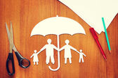 Concept of life insurance — Stock Photo