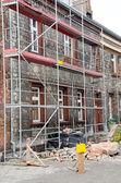 Bulding during renovation — Stock Photo