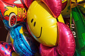 Colorful children baloons — Stock Photo