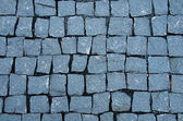 Sidewalk made of stones — Stock Photo