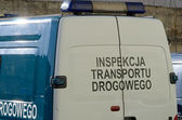 Inspection of road transport — Stock Photo