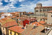 AVILA, SPAIN - MAY 05: View from the city wall on May 05, 2013 i — Stock Photo