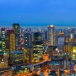 Stock Photo: Osaka at night, Japan