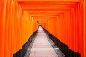 Fushimi Inari Shrine, Kyoto, Japan — Stock Photo