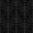 Abstract, beautiful, black, royal, vintage background — Stock Photo