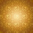 Abstract beautiful gold background, royal, damask ornament — Stock Photo