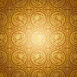 Abstract beautiful gold background, royal, damask ornament - Stock Photo