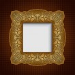Vintage ornamental frame, rich, royal, luxury, creative, design — Stock Photo #13969768