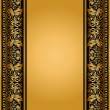 Stock Photo: Vintage, elegant background, antique, victorian floral frame