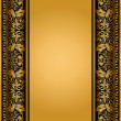 Vintage, elegant background, antique, victorian floral frame — Stock Photo #18820843