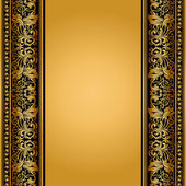Vintage, elegant background, antique, victorian floral frame — Stock Photo