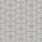 Damask beautiful background with rich, old style, luxury ornamentation, gray fashioned seamless pattern — Stock Vector