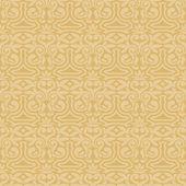 Дамасские красивый фон с богатыми, роскошных украшений, сливки, золото старомодный бесшовный фон — Cтоковый вектор