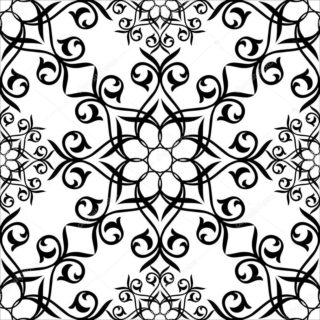 Fond ornemental de style islamique dessin dornement - Style de dessin ...