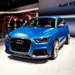 Audi RS Q3 concept car — Stock Photo