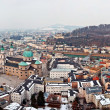 Panorama view of Salzburg, Austria - Stock Photo