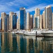 Dubai Marina, UAE. - Stock Photo