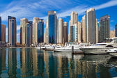 Dubai Marina, UAE. — Stock Photo