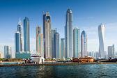 Puerto deportivo de dubái, emiratos árabes unidos — Foto de Stock