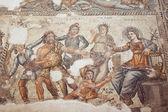 Romersk mosaik i paphos, cypern — Stockfoto