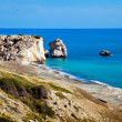Aphrodite beach on Cyprus — Stock Photo