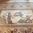 Roman mosaic in Paphos, Cyprus — Stock Photo