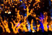 Vánoční bokeh světla — Stock fotografie