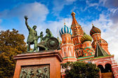 St Basils Cathedral on Red Square, Moscow — Stock Photo