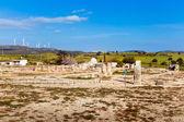 Fornlämningar i paphos, cypern — Stockfoto