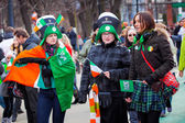 St. Patrick's Day in Moscow — Stock fotografie