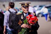 Oslavy dne vítězství v Moskvě — Stock fotografie
