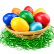 Colorful Easter eggs isolation — Stock Photo #20087163