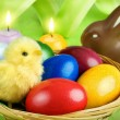 Colorful Easter arrangement — Stock Photo #20729405
