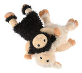 Two cute stuffed animals — Stock Photo