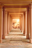 The passageway to Heaven — Stock Photo