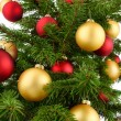 Christmas tree closeup — Foto de stock #32920463