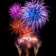 Magnificent fireworks display — Stock Photo