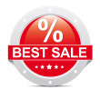 Stock Photo: Best Sale Icon