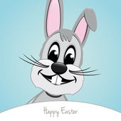 Happy easter bunny — Stock Vector