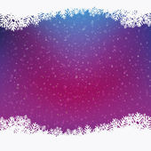 Colorful winter snowy background — Vector de stock
