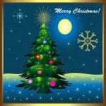Christmas card — Stock Vector #12522500