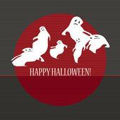 幽霊のハロウィーン — ストックベクタ