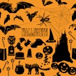 Cтоковый вектор: Halloween seamless pattern