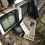 Computing wreckage — Stock Photo #45632651