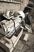 Computing wreckage — Stock Photo