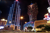 Macao by night — Stock Photo