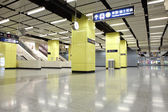 Subway station space — Foto de Stock