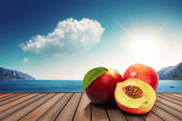 Fruits in the sun — Stock Photo